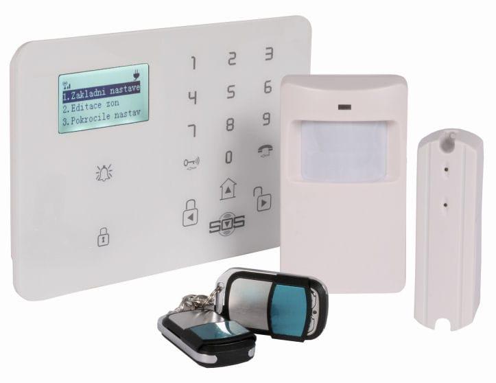 GSM alarm Hütermann HG-209-CZ