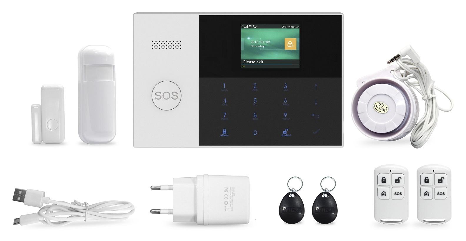 GSM alarm Hütermann HG-240-EN