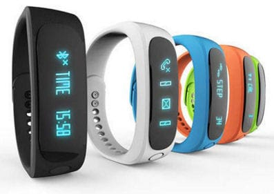 Fitness náramek FT02, OLED, Bluetooth 4.0, Android+iOS